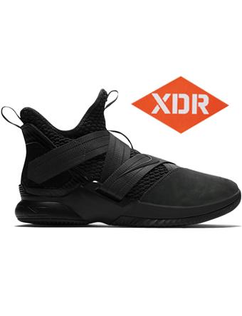 バスケットシューズ バッシュ  ナイキ Nike Lebron Soldier XII SFG EP Anthracite/Blk