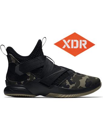 バスケットシューズ バッシュ  ナイキ Nike Lebron Soldier XII SFG EP Blk/Hazelrush