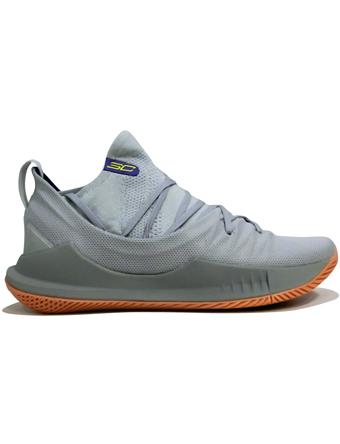 バスケットシューズ バッシュ  ナイキ Nike Curry 5 Low Elemental/Ivory