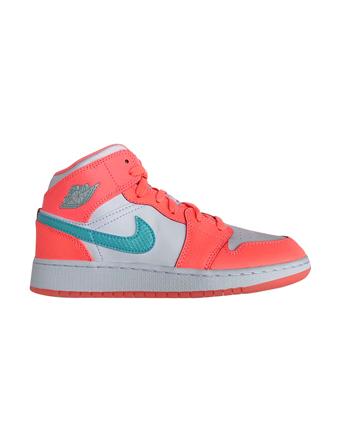 爆売り! バスケットシューズ ジュニア ジュニア キッズ バッシュ スニーカー ナイキ GG Nike Air ストリート Jordan 1 Mid GG GS C.Pink/P.Grn ストリート【GS】キッズ, プロのすすめるカーペット:7ee2da1b --- eigasokuhou.xyz
