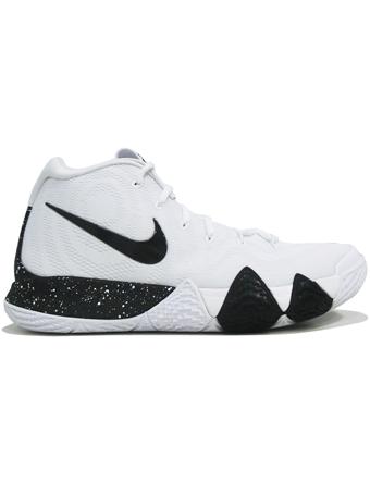バスケットシューズ バッシュ  ナイキ Nike Kyrie 4 TB Wht/Blk