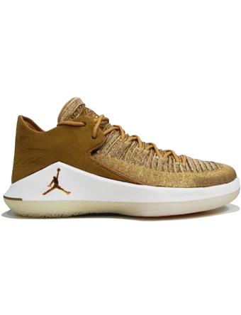 バスケットシューズ バッシュ  ジョーダン ナイキ Jordan Air Jordan XXX2 Low PF G.Harvest/M.Gold/Sail