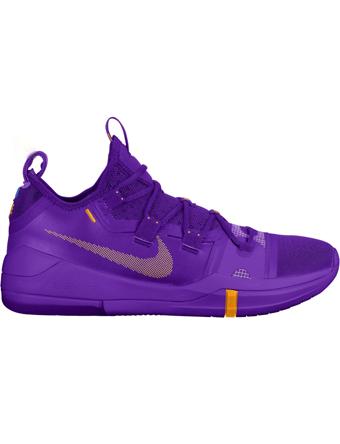 バスケットシューズ バッシュ  ナイキ Nike Kobe AD TB H.Grape/U.Gold/Blk