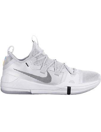 バスケットシューズ バッシュ  ナイキ Nike Kobe AD TB Wht/Blk