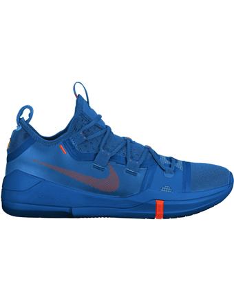 バスケットシューズ バッシュ  ナイキ Nike Kobe AD TB P.Blu/T.Org/Blk