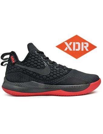 バスケットシューズ バッシュ  ナイキ Nike Lebron Witness III EP Blk/G.Red