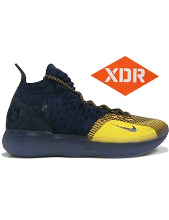 バスケットシューズ バッシュ  ナイキ Nike Zoom KD 11 EP C.Nvy/U.Gold