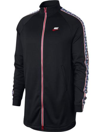 ジャケット ウェア 秋冬物 ナイキ Nike Taped Track Jacket Blk  ランニング トレーニング ストリート 【MEN'S】