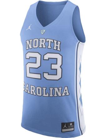バスケットジャージ ウェア  ジョーダン ナイキ Jordan Jordan College Authentic Jersey North Carolina  【MEN'S】