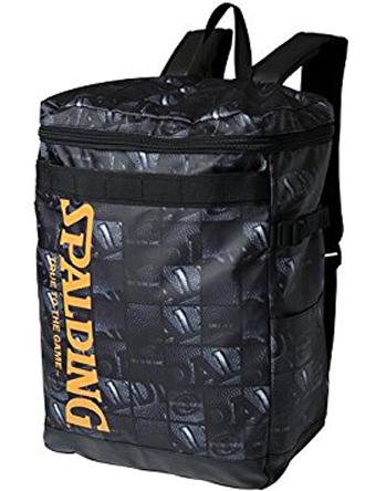 バスケットバッグ バックパック リュック スポルディング Spalding Bag Downtown BALL WINDOW Blk