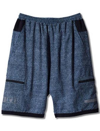 バスケットショーツ バスパン ウェア  アクター AKTR TWB CLOTH PATTERN SHORTS Blk  【MEN'S】