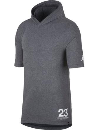 バスケットTシャツ ウェア  ジョーダン ナイキ Jordan Jordan JSW 23 Hooded Tee C.Heather/Wht  ランニング トレーニング ストリート 【MEN'S】