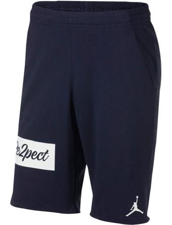 ショーツ バスパン ウェア  ジョーダン ナイキ Jordan Jordan Re2pect Flight Fleece Shorts Nvy/Wht  ランニング トレーニング ストリート 【MEN'S】