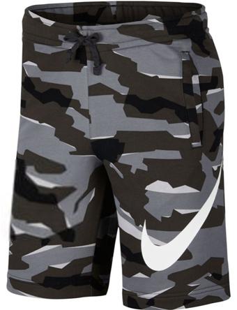 バスケットショーツ バスパン ウェア  ナイキ Nike Club Camo Fleece Shorts C.Gry/Blk  ランニング トレーニング ストリート 【MEN'S】
