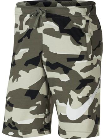 バスケットショーツ バスパン ウェア  ナイキ Nike Club Camo Fleece Shorts L.Bone/Blk  ランニング トレーニング ストリート 【MEN'S】