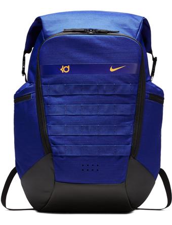 08e92776ddc0 바스켓 가방 백 팩 배낭 나이키 Nike KD Trey 5 Basketball Backpack D.Royal Blk U.Gold 스트리트