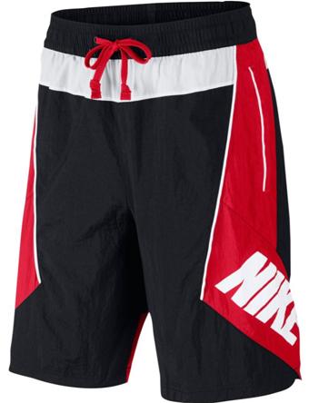 ショーツ バスパン ウェア  ナイキ Nike Throwback Shorts Blk/U.Red/Wht  ランニング トレーニング ストリート 【MEN'S】