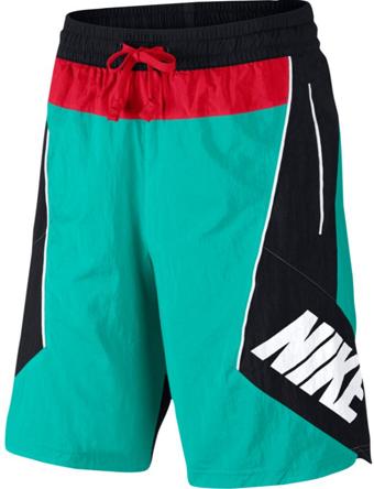 ショーツ バスパン ウェア  ナイキ Nike Throwback Shorts N.Grn/Blk/U.Red  ランニング トレーニング ストリート 【MEN'S】
