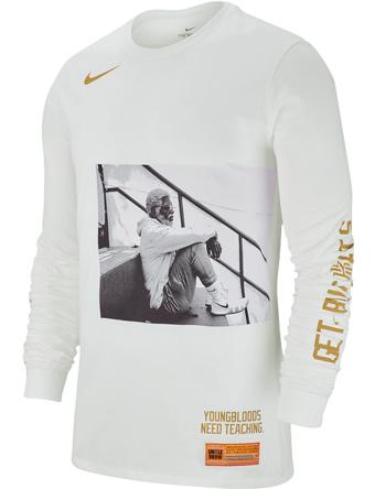 バスケットロング Tシャツ ウェア  ナイキ Nike Kyrie Uncle Drew L/S Tee Wht  ストリート 【MEN'S】