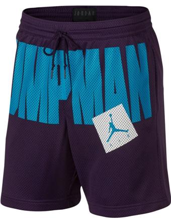 バスケットショーツ バスパン ウェア  ジョーダン ナイキ Jordan Jordan Jumpman Air Mesh Shorts Purp/Blu  ランニング トレーニング ストリート 【MEN'S】