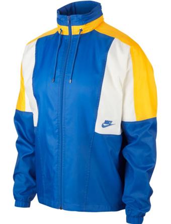 バスケットジャケット ウェア 秋冬物 ナイキ Nike Woven Re-Issue Jacket S.Blu/Amarillo/Sail  ランニング トレーニング ストリート 【MEN'S】