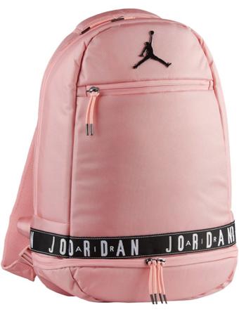 バスケットバッグ バックパック リュック ジョーダン ナイキ Jordan Jordan Skyline Taping Backpack Pink/Gry  ストリート