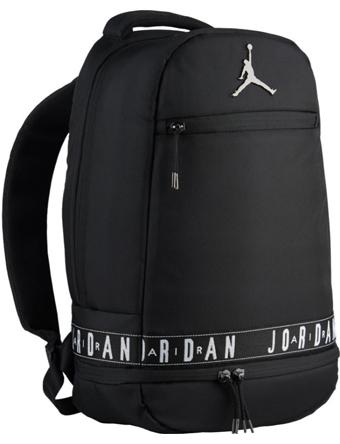 JB337 リュックサック Jordan Backpack バスケットボール ジョーダン 黒赤灰 鞄 ストリート