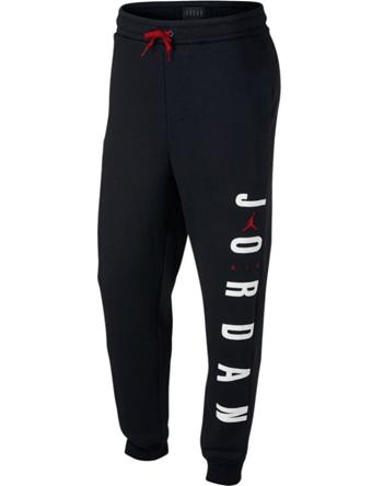 バスケットパンツ ウェア 秋冬物 ジョーダン ナイキ Jordan Jordan Jumpman Air HBR Pants Blk/G.Red  ストリート 【MEN'S】