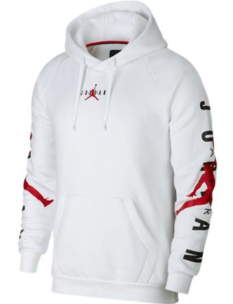 バスケットパーカー ウェア 秋冬物 ジョーダン ナイキ Jordan Jordan Jumpman Air HBR Pullover Hoodie Wht/G.Red  ストリート 【MEN'S】