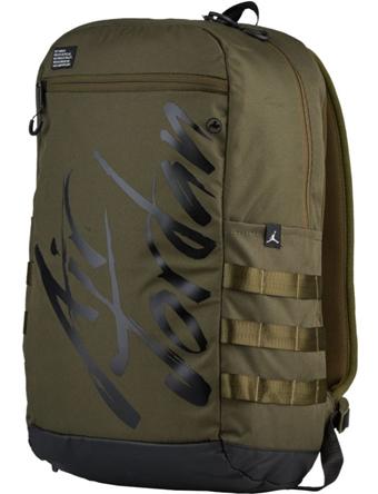 バスケットバッグ バックパック リュック ジョーダン ナイキ Jordan Air Jordan Script Backpack O.Canvas/Blk  ストリート