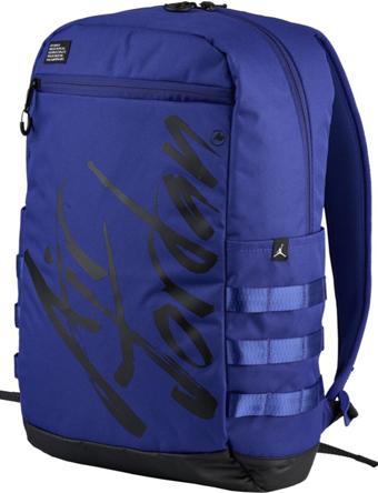 バスケットバッグ バックパック リュック ジョーダン ナイキ Jordan Air Jordan Script Backpack G.Blu/Blk  ストリート