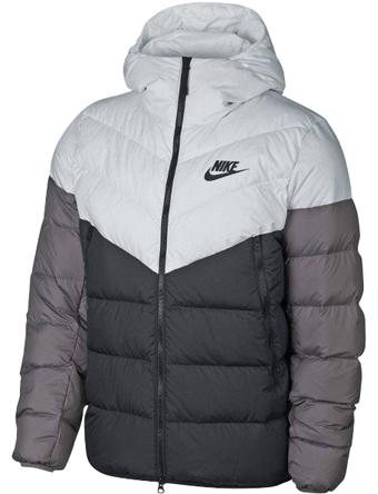 バスケットジャケット ウェア 秋冬物 ナイキ Nike Fill Down Hoodie Jaket Wht  ストリート 【MEN'S】