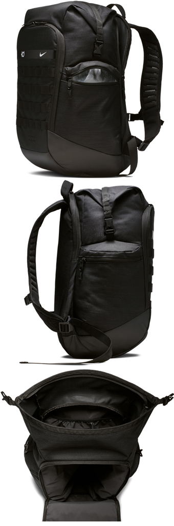 07b3f4758f Basket bag backpack rucksack Nike Nike KD Trey 5 Basketball Backpack  Blk Wht street