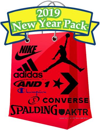 バスケット福袋 ウェア  福袋 2019 New Year Pack  ランニング トレーニング ストリート 【MEN'S】