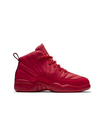 バスケットシューズ ジュニア キッズ バッシュ スニーカー  ジョーダン ナイキ Jordan Air Jordan 12 Retro PS PS G.Red/Blk  ストリート 【PS】