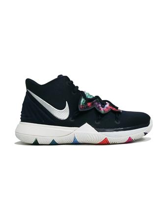 バスケットシューズ ジュニア キッズ バッシュ  ナイキ Nike Kyrie 5 GS GS Nvy/Multi  【GS】キッズ