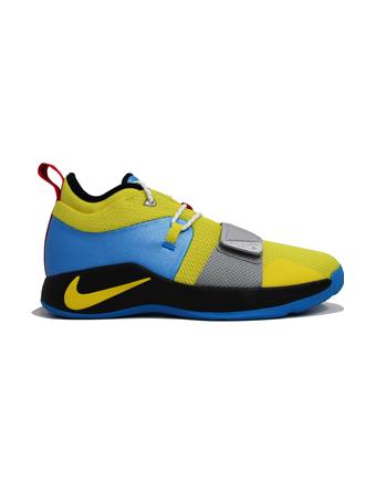 バスケットシューズ ジュニア キッズ バッシュ  ナイキ Nike PG 2.5 GS GS O.Yel/B.Hero/Blk/U.Red  【GS】キッズ