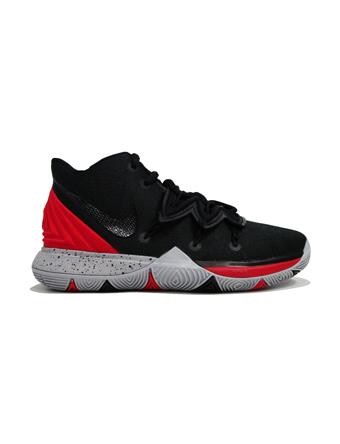 バスケットシューズ ジュニア キッズ バッシュ スニーカー  ナイキ Nike Kyrie 5 GS GS U.Red/Blk  ストリート 【GS】キッズ