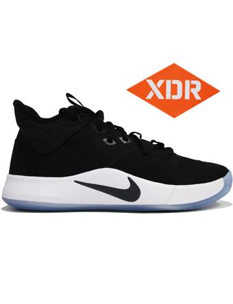 バスケットシューズ バッシュ  ナイキ Nike PG 3 EP Blk/Wht/L.Fuchsia