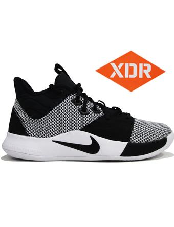 バスケットシューズ バッシュ  ナイキ Nike PG 3 EP Blk/F.Blu/T.Org/Wht