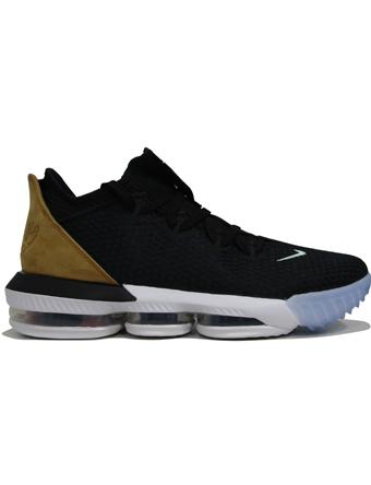 バスケットシューズ バッシュ  ナイキ Nike Lebron 16 Low Blk/Multi/Wht/Wheat