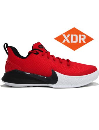 バスケットシューズ バッシュ スニーカー  ナイキ Nike Kobe Mamba Focus EP U.Red/Blk/Wht  ストリート