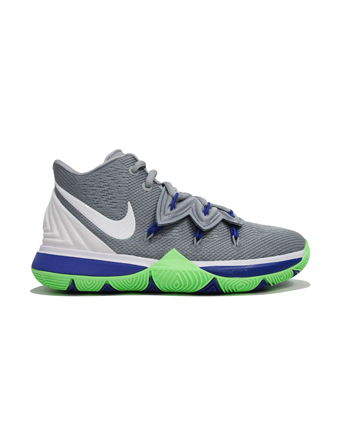 バスケットシューズ ジュニア キッズ バッシュ  ナイキ Nike Kyrie 5 GS GS W.Gry/L.Blast  【GS】キッズ
