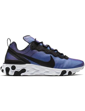 シューズ スニーカー ランニング  ナイキ Nike React Element 55 PRM Blk/L.Fuchsia/Wht  ランニング トレーニング ストリート