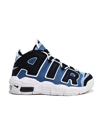 バスケットシューズ ジュニア キッズ バッシュ スニーカー  ナイキ Nike Air More Uptempo GS