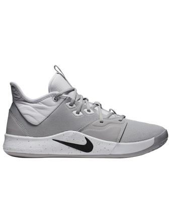 バスケットシューズ バッシュ  ナイキ Nike PG 3 TB W.Gry/Blk/Wht