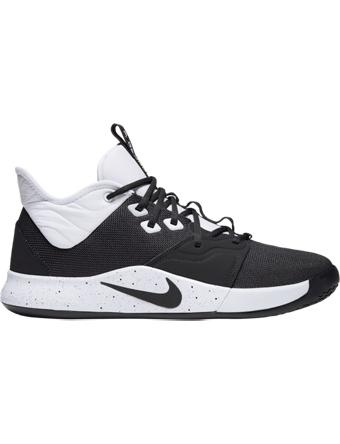 バスケットシューズ バッシュ  ナイキ Nike PG 3 TB Blk/Wht