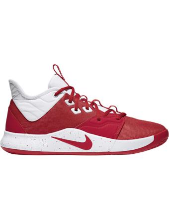 バスケットシューズ バッシュ  ナイキ Nike PG 3 TB Red/Wht