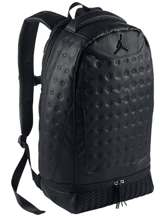 バスケットバッグ バックパック リュック ジョーダン Jordan Jordan Retro 13 Backpack Blk/Blk  ストリート