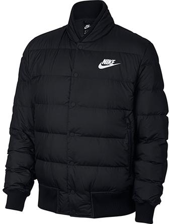バスケットジャケット ウェア 秋冬物 ナイキ Nike Fill Down Bomer Jacket Blk  ストリート 【MEN'S】